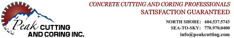 Concrete Cutting and Coring Professionals
